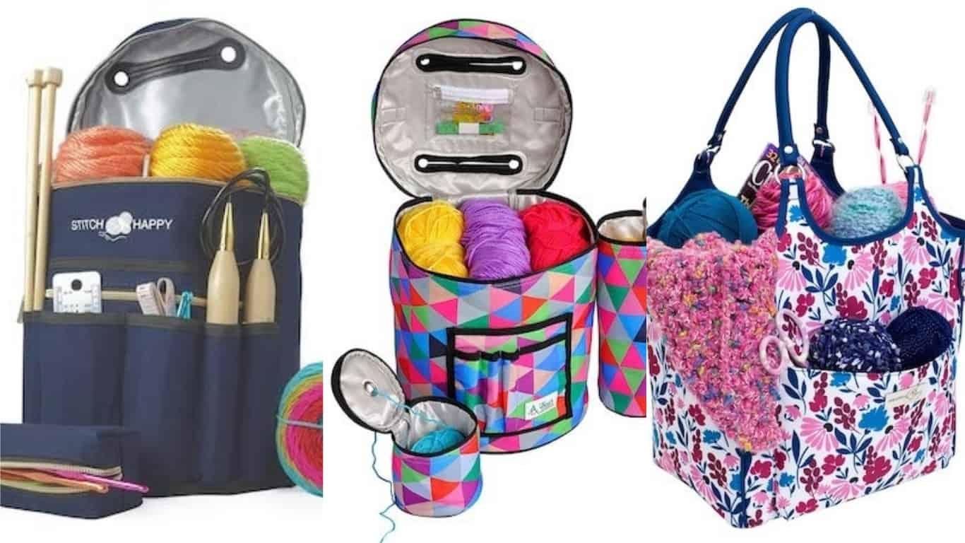 the Maker Knitting Bag