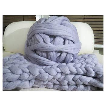 Best Oversized Yarns For Knitting A Chunky Blanket The Creative Folk