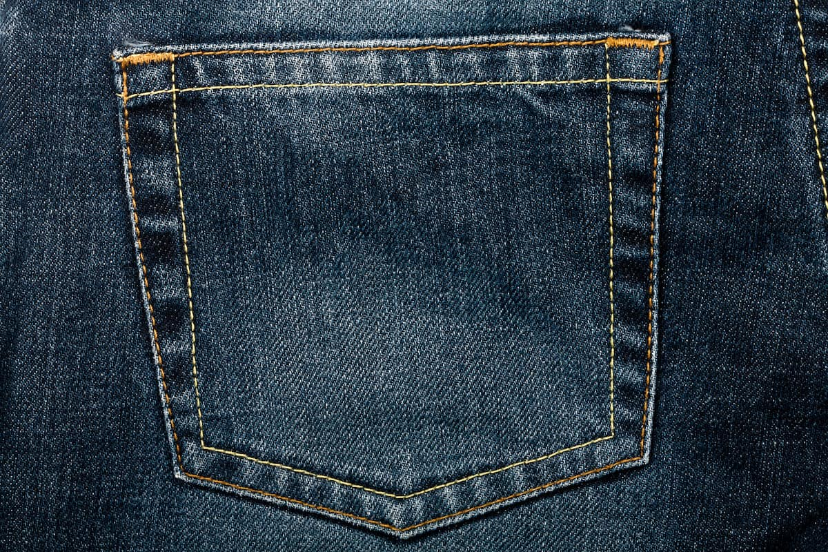 How To Fix Ripped Jeans Back Pocket The Creative Folk