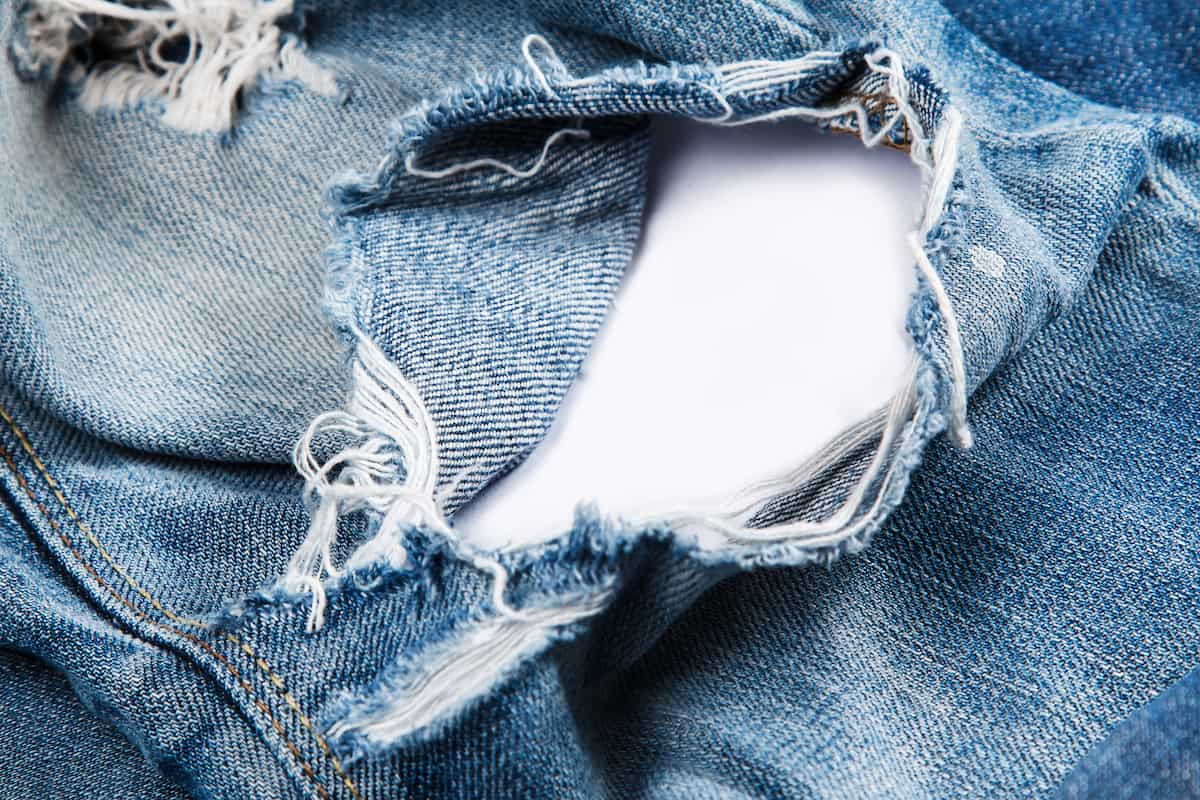 How To Fix A Hole In Jeans Without Sewing The Creative Folk