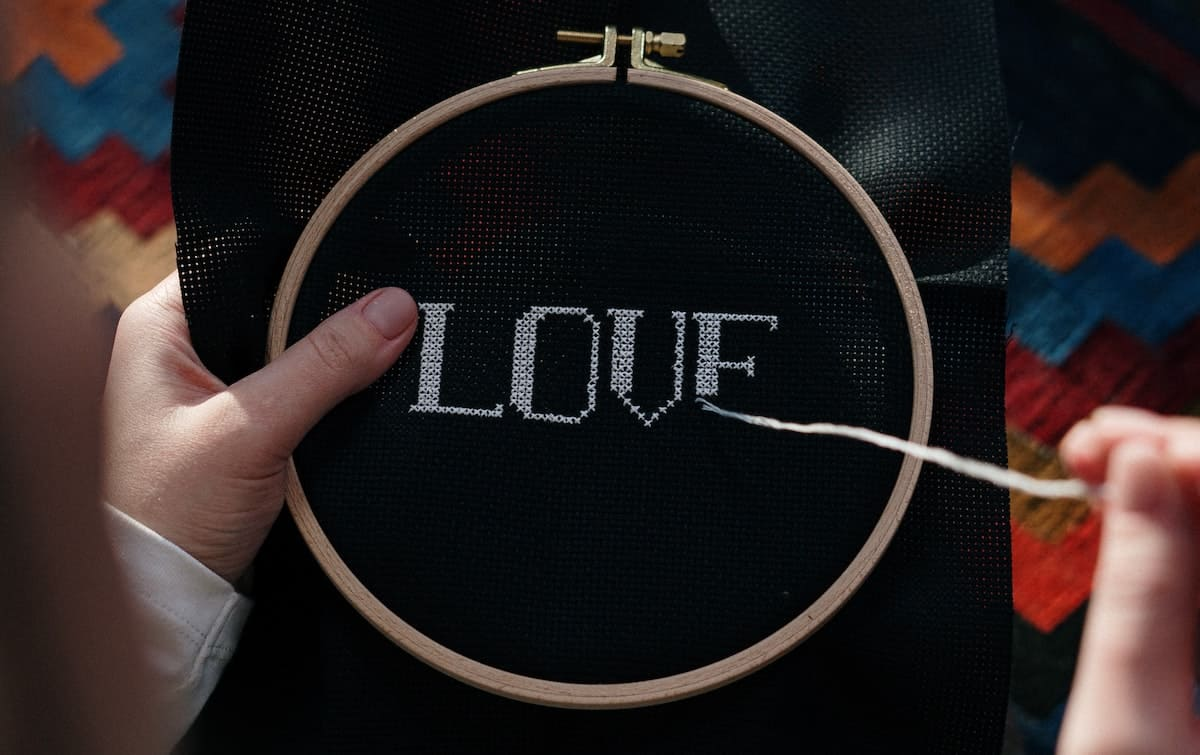 The Best Font For Hand Embroidery The Creative Folk